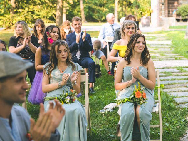 Il matrimonio di Riccardo e Melissa a Novedrate, Como 110