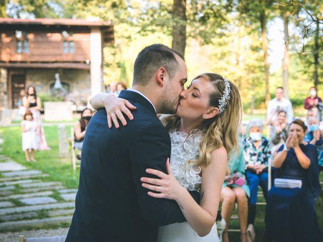 Il matrimonio di Riccardo e Melissa a Novedrate, Como 112