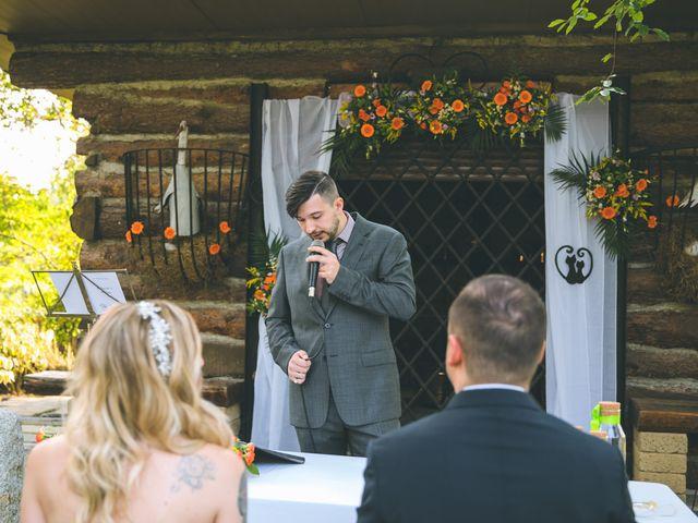 Il matrimonio di Riccardo e Melissa a Novedrate, Como 113