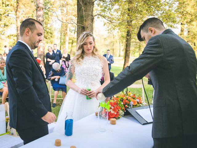 Il matrimonio di Riccardo e Melissa a Novedrate, Como 118