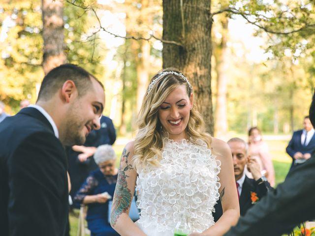 Il matrimonio di Riccardo e Melissa a Novedrate, Como 119