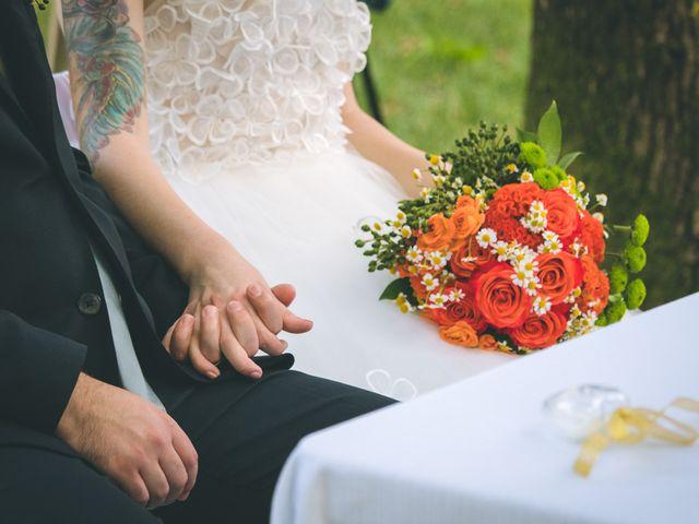 Il matrimonio di Riccardo e Melissa a Novedrate, Como 128