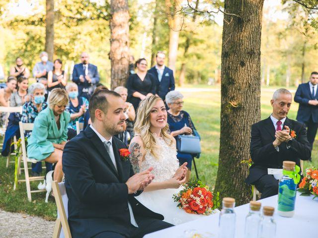 Il matrimonio di Riccardo e Melissa a Novedrate, Como 130