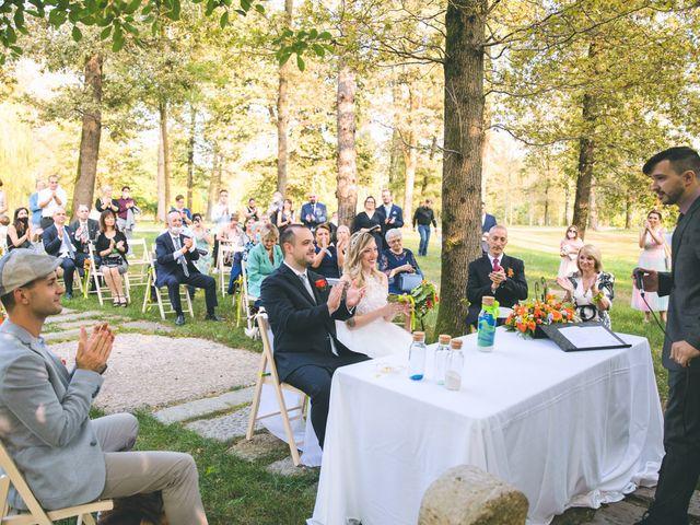 Il matrimonio di Riccardo e Melissa a Novedrate, Como 131