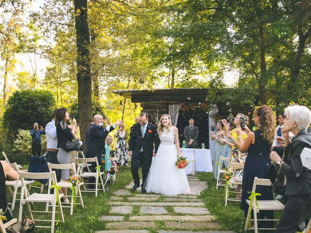 Il matrimonio di Riccardo e Melissa a Novedrate, Como 134