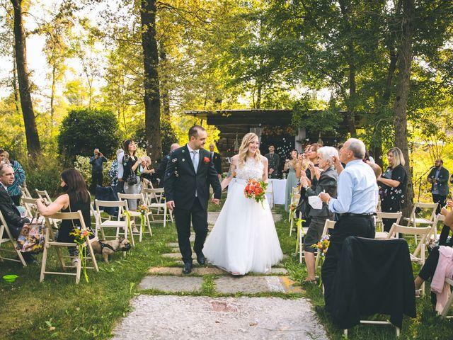 Il matrimonio di Riccardo e Melissa a Novedrate, Como 135