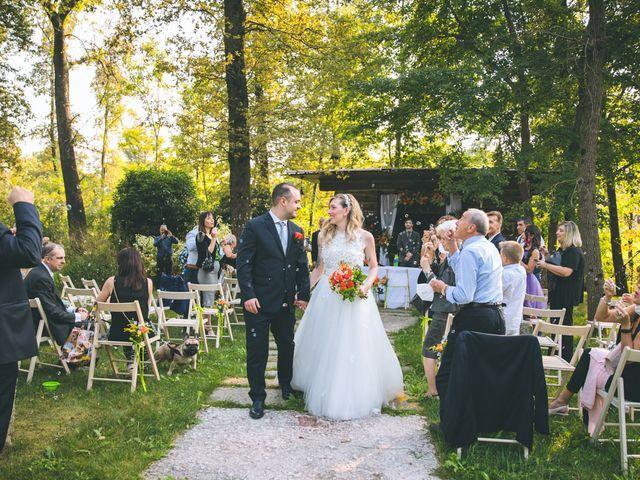 Il matrimonio di Riccardo e Melissa a Novedrate, Como 136