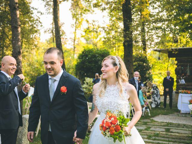 Il matrimonio di Riccardo e Melissa a Novedrate, Como 137