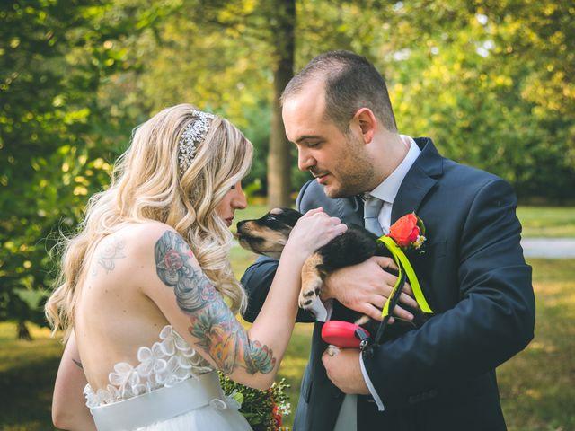 Il matrimonio di Riccardo e Melissa a Novedrate, Como 142
