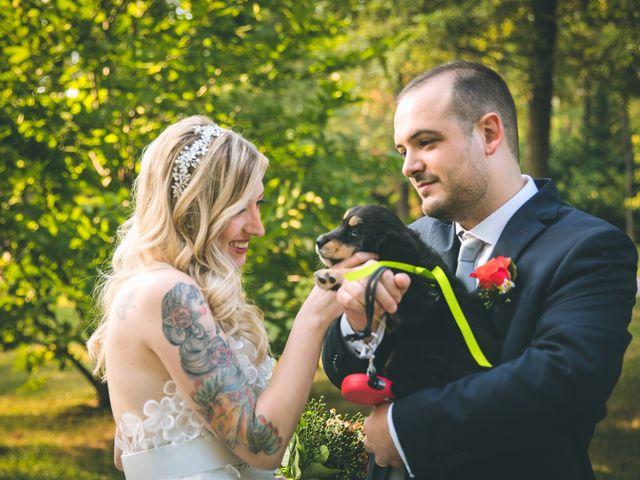 Il matrimonio di Riccardo e Melissa a Novedrate, Como 143