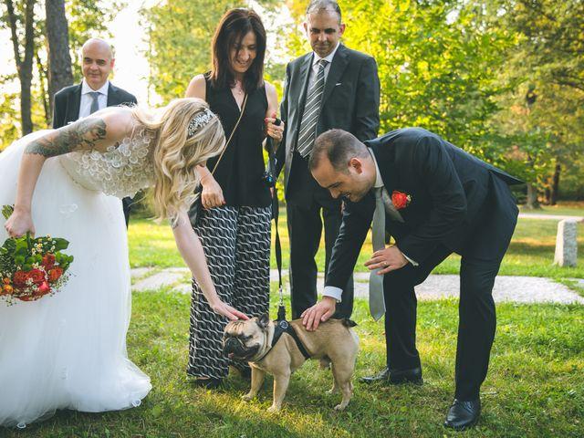 Il matrimonio di Riccardo e Melissa a Novedrate, Como 149