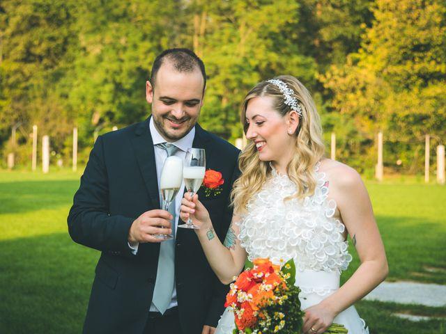 Il matrimonio di Riccardo e Melissa a Novedrate, Como 154