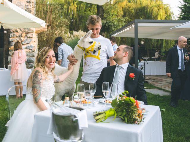 Il matrimonio di Riccardo e Melissa a Novedrate, Como 178