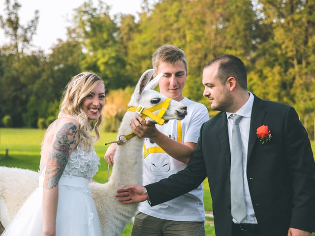 Il matrimonio di Riccardo e Melissa a Novedrate, Como 181