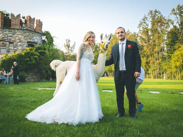 Il matrimonio di Riccardo e Melissa a Novedrate, Como 182