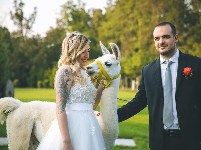 Il matrimonio di Riccardo e Melissa a Novedrate, Como 184