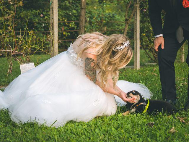 Il matrimonio di Riccardo e Melissa a Novedrate, Como 206