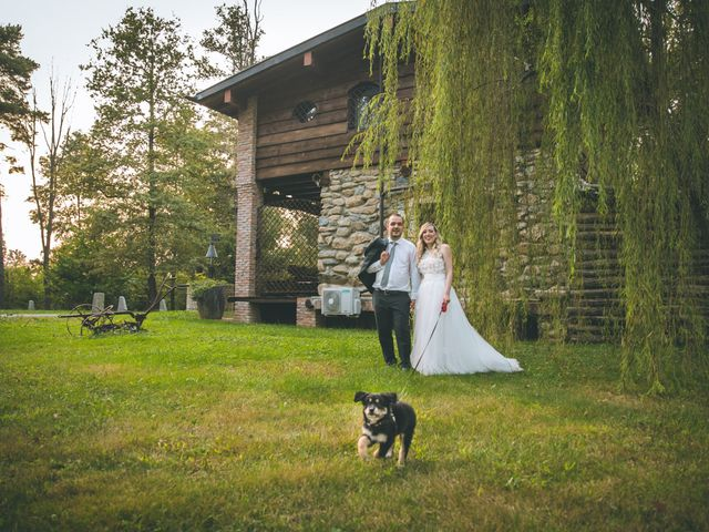 Il matrimonio di Riccardo e Melissa a Novedrate, Como 234