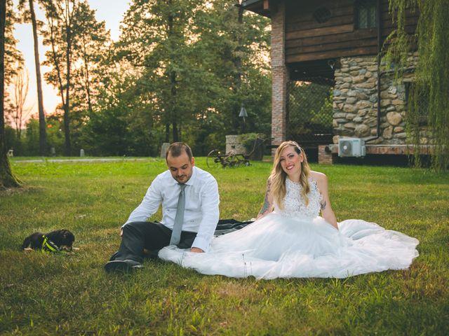 Il matrimonio di Riccardo e Melissa a Novedrate, Como 240