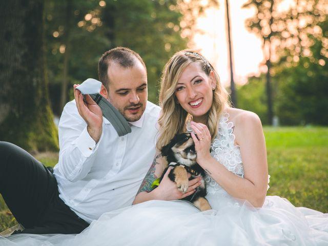 Il matrimonio di Riccardo e Melissa a Novedrate, Como 245