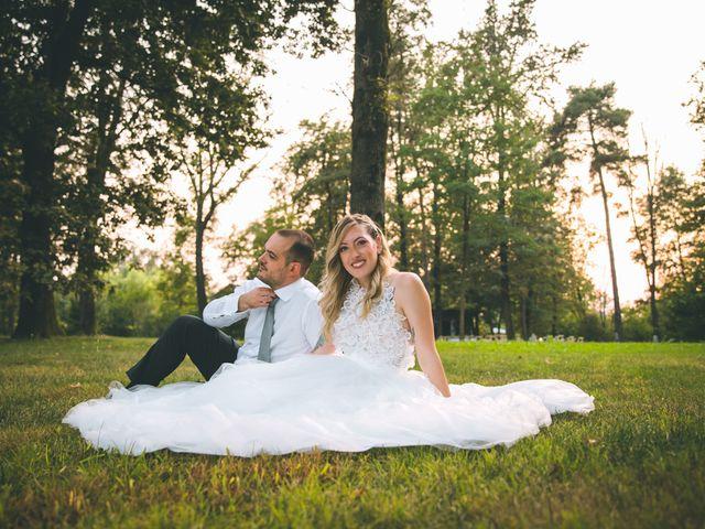 Il matrimonio di Riccardo e Melissa a Novedrate, Como 248