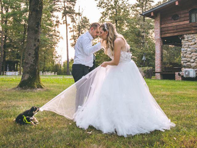 Il matrimonio di Riccardo e Melissa a Novedrate, Como 255