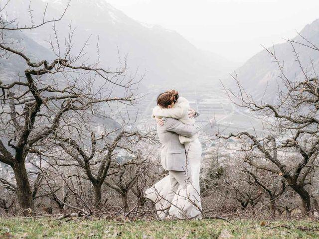 Il matrimonio di Lucien e Nadia a Aosta, Aosta 33
