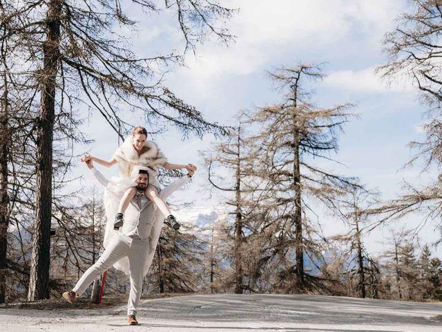 Il matrimonio di Lucien e Nadia a Aosta, Aosta 63