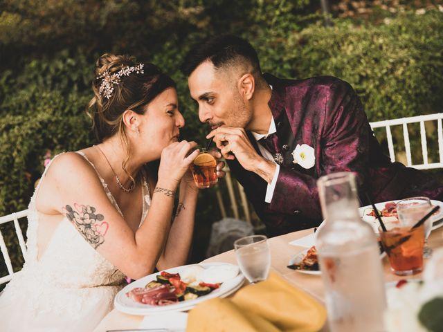 Il matrimonio di Valerio e Simona a Frascati, Roma 1