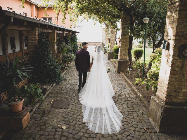 Il matrimonio di Valerio e Simona a Frascati, Roma 35
