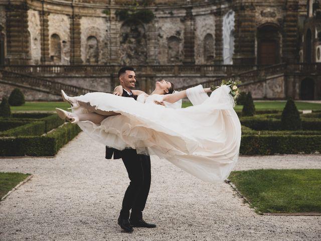 Il matrimonio di Valerio e Simona a Frascati, Roma 48