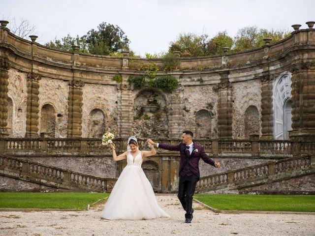 Il matrimonio di Valerio e Simona a Frascati, Roma 51