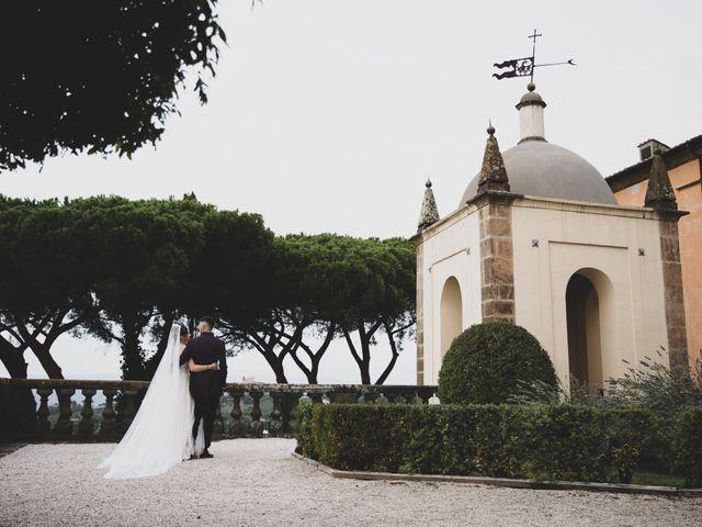 Il matrimonio di Valerio e Simona a Frascati, Roma 56