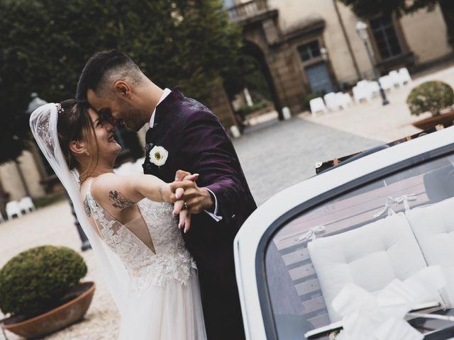 Il matrimonio di Valerio e Simona a Frascati, Roma 58