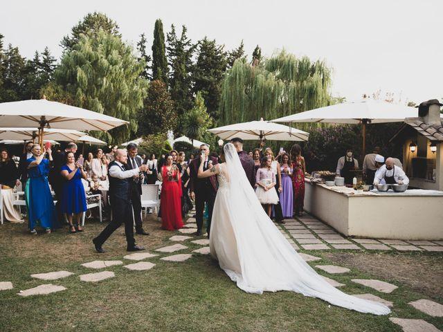 Il matrimonio di Valerio e Simona a Frascati, Roma 61