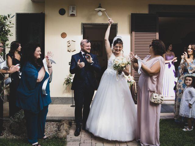 Il matrimonio di Valerio e Simona a Frascati, Roma 82