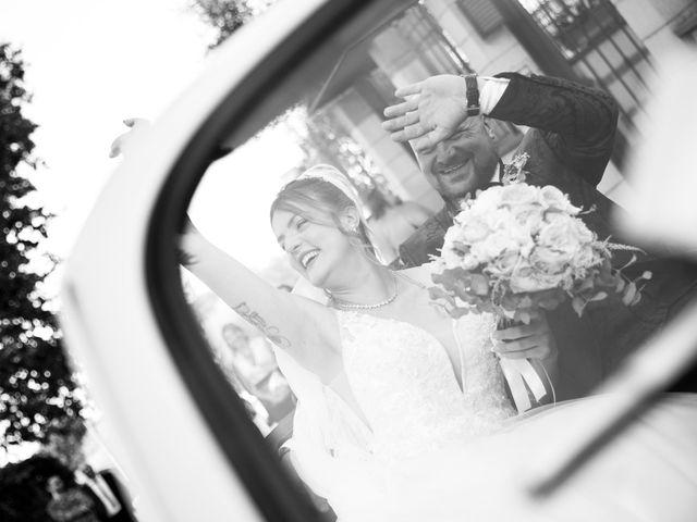 Il matrimonio di Valerio e Simona a Frascati, Roma 83