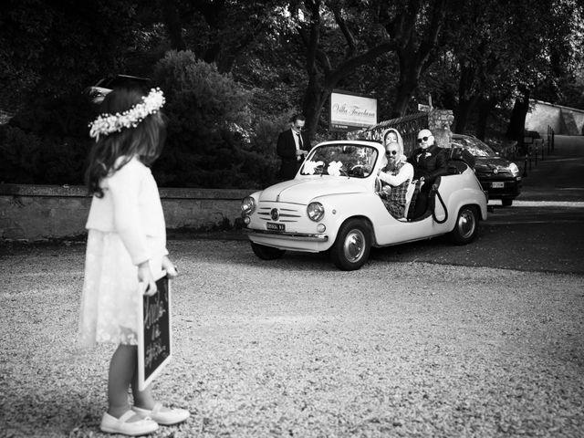 Il matrimonio di Valerio e Simona a Frascati, Roma 86