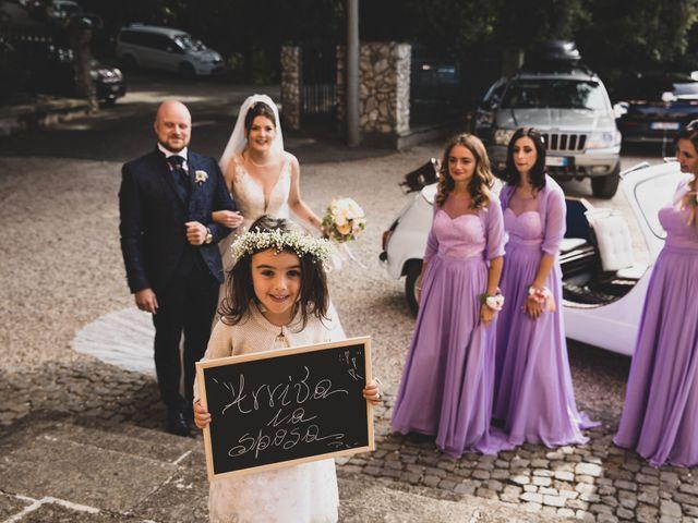 Il matrimonio di Valerio e Simona a Frascati, Roma 87