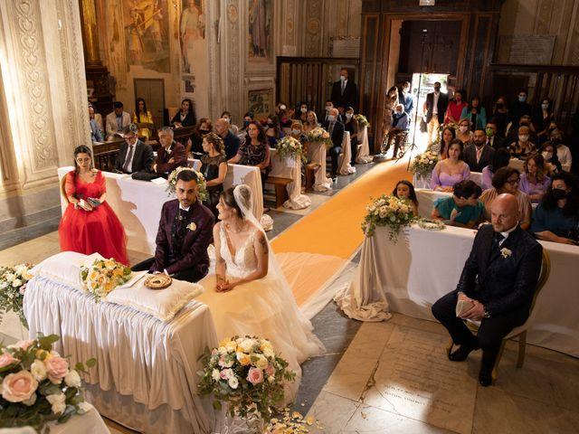 Il matrimonio di Valerio e Simona a Frascati, Roma 91