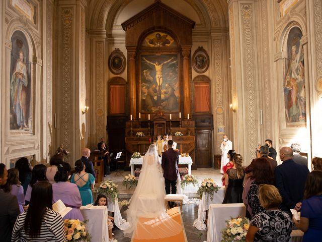 Il matrimonio di Valerio e Simona a Frascati, Roma 92