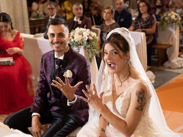 Il matrimonio di Valerio e Simona a Frascati, Roma 93