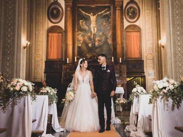 Il matrimonio di Valerio e Simona a Frascati, Roma 94