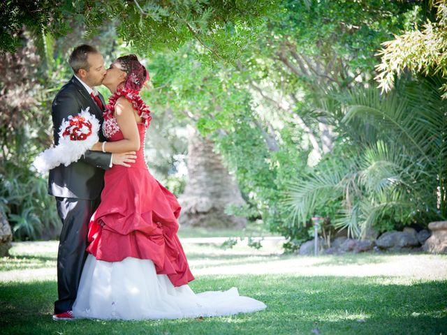 le nozze di Agostina e Michel