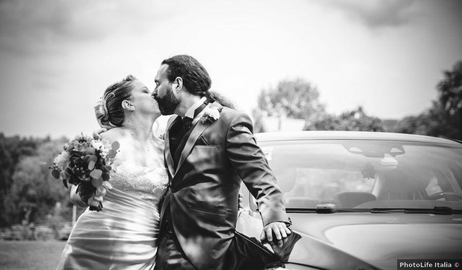 Il matrimonio di Luca e Stefania a Viverone, Biella