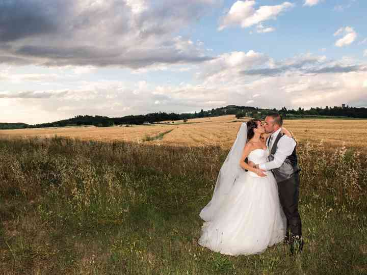 le nozze di Massimo e Elisa