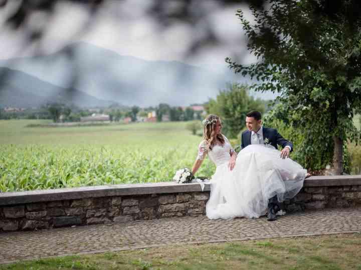 Le nozze di Rosaria e Oscar