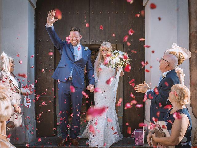 Le nozze di Natalie e Alex