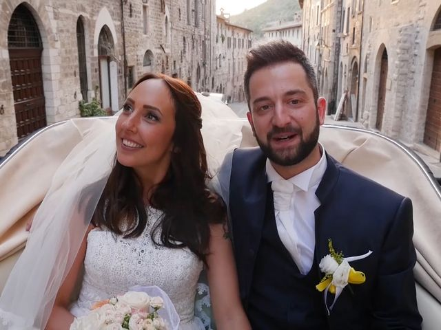 Il matrimonio di Lorenzo e Giusi a Gubbio, Perugia 18