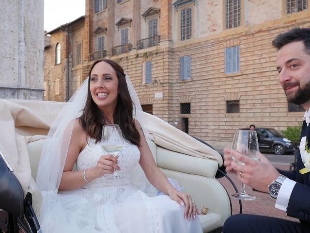 Il matrimonio di Lorenzo e Giusi a Gubbio, Perugia 19